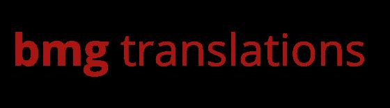 bmg translations
